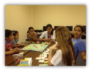 Time for games and so much more at VU 2103 Summer Camp.