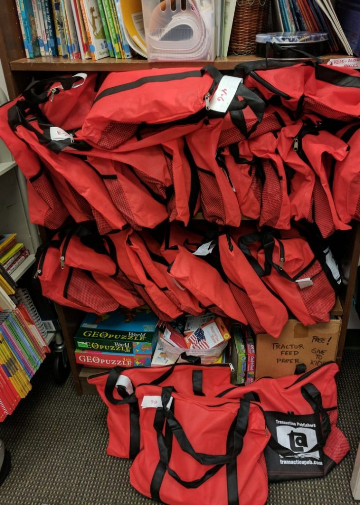 There's a bag for every student